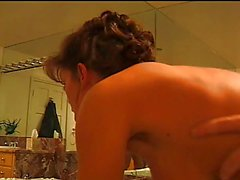 British MILF Nici Stirling gets fucked in the bathroom