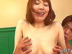 wild masturbation with busty asian feature