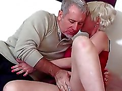 Blonde Mature Gal Gets Her Ass Banged