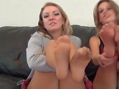 Double pantyhose naughty foot joi