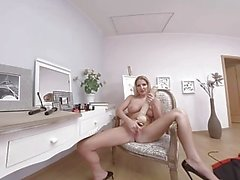 virtualtaboo Gorgeous mother Georgie plays with monster cock