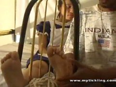 Asian Maid Tickling