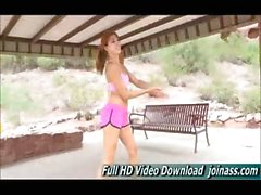 Hannah sporty girl from Colorado public nudity involved