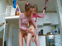 18yo serbian chicks playing with toys