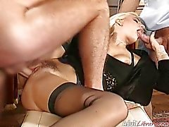 German Wife fucked by two Doctors