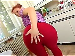Cute chubby redhead gets her pussy and ass fucked