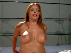 Stacked MILF Francesca Le fucking in the ring