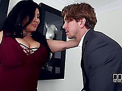 Jaylene Rio menacing-fearsome An Actor's Breasty Choice menacing-fearsome Banging Her Large Marangos Makes Him Cum