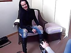 MAGMA FILM Casting a busty German MILF