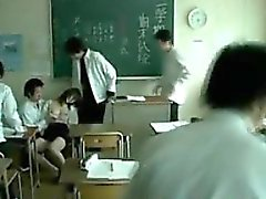 Japanese Professor Gets Groped By Students