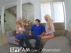 SpyFam Step mother Brandi Love gives step daughter Elsa Jean