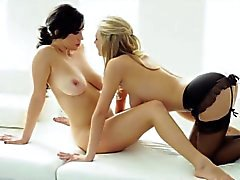 Hot lez babe Jelena Jensen toy playing