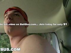 BAITBUS - Alexander Greene Tricks Straight Bait Aiden Allah Into Fucking Hi