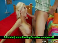 Puma Swede blonde blowjob and titsjob