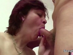 Step-Mom Seduce Young Boy to Fuck her When Home Alone