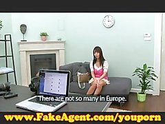 FakeAgent Cute Japanese gets fucked and take a huge facial
