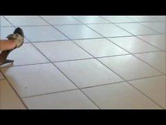 Ebenholz Reife Füße Anbetung
