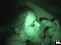 Charley Chase gets fucked in the dark