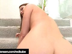 Penthouse Pet Jelena Jensen Tied & Pleased By Samantha Ryan!
