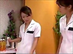 Japanese Nurses Rimming & Jerking Lucky Patient (Zdonk)