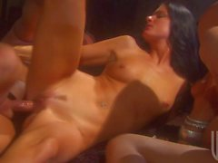 India Summer and Kaylani Lei in 4some orgy