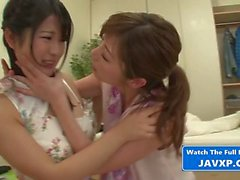 Hot Japanese Lesbian StepMom And Teen