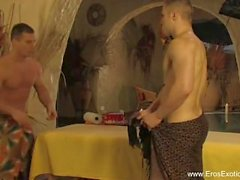 Gay Anal Massage Lovers