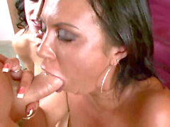 Jessica Jaymes & Mariah Milano point of view double gargling big FACIAL!