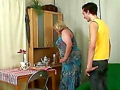 Wife comes in when her huge mother rides my cock