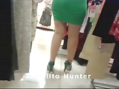Spying for Lady in Skirt (Video 1)