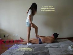 chinese femdom trample