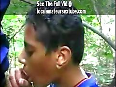 picked up black twink in park for a blowjob