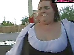 Wow Giant Ass Bbw Red Head Fucks Her Pussy Chubby Tits Part 1