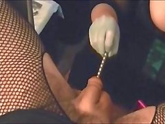 Urethral Stretching by My Mistress