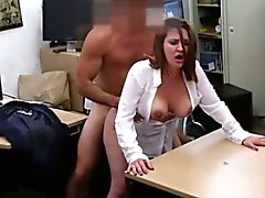 Bigtits pawnbroker babe plowed for cash