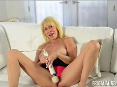Erica Lauren Rubs One Out With Her Magic Wand