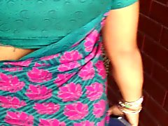 sexy nepali aunty walking (jiggly ass) part - 2