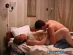 Russian Couple Make A Sex Tape