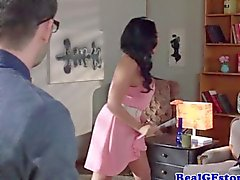 Squirting british housewife shows deepthroat