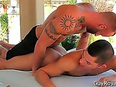 Massage de And Tug Ethan de Slade et de de Derek part3