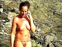 Curvy Hot Milfs Nude At The Beach Spycam HD Voyeur Video
