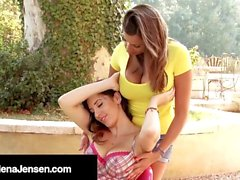 Penthouse Pet Jelena Jensen & Sensual Jane Eat Pussy!
