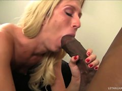 young blonde Maia Davis gets her cards read, and takes the