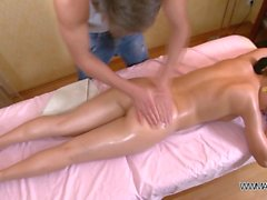 Teenyplayground - Oil massage with facial after hard fuck