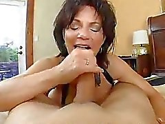 Busty Mom Deauxma Squirts From Anal!
