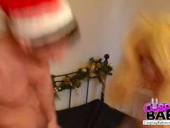 COSPLAY BABES Filthy Harley Quinn makes Xmas special
