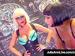 sapphic mummies Julia Ann & Jessica Jaymes Share A large Dick!