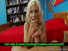Puma Swede schoolgirl blowjobs and fucking