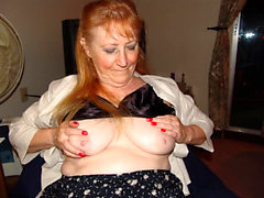 Busty Plump Mature Needs Hairy Cunt Masturbation