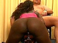 Dutch Dude bangs Wild Ebony Chick